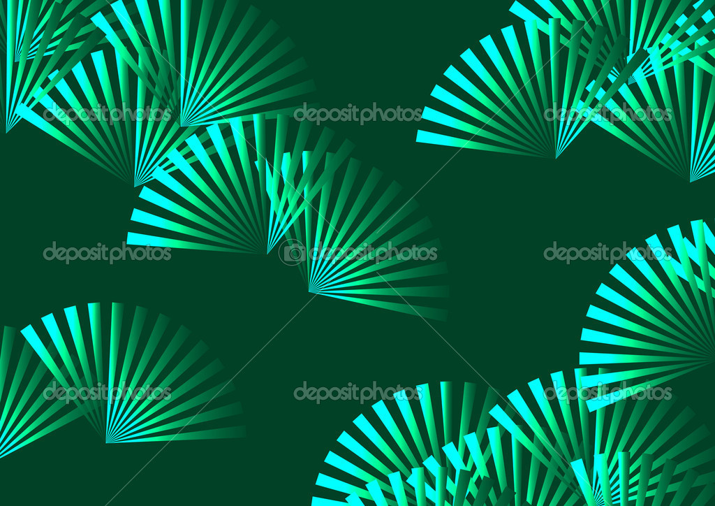 The pattern of visionary leaves — Stock Photo #10928318