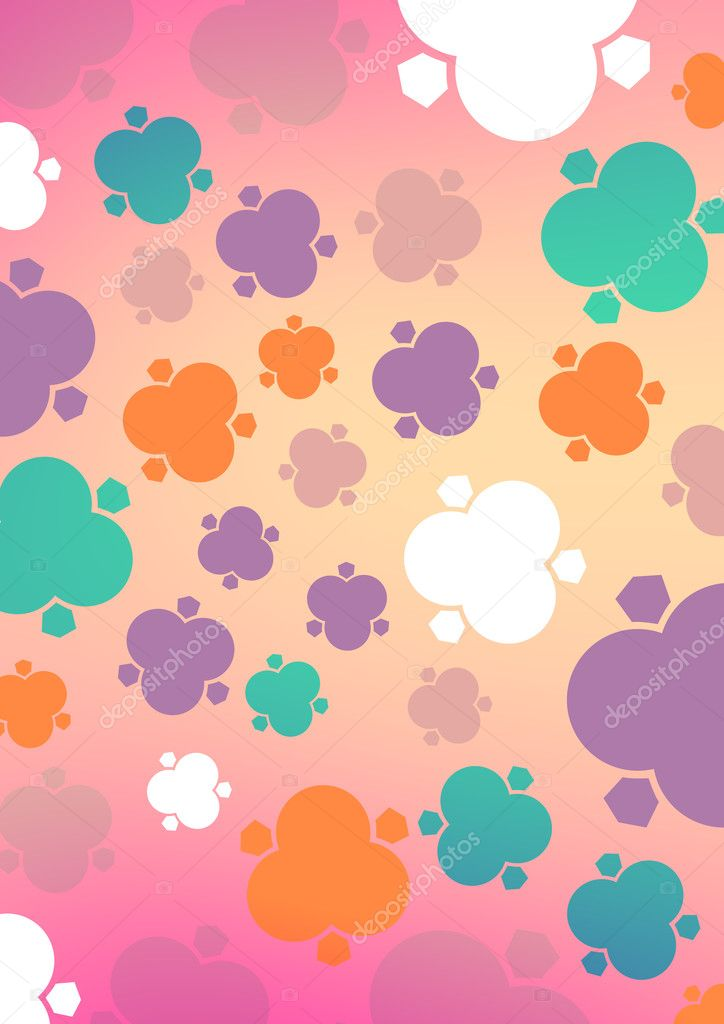 A modern and lovely graphic pattern  — Stock Photo #11594312
