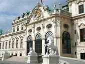 Upper Belvedere in Vienna — Stock Photo