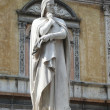 Statue of Dante Alighieri in Verona — Stock Photo #11308371