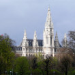 Neues Rathaus in Vienna — Stock Photo