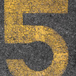 Parking Number 5 — Stock Photo #11579086