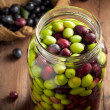 Stock Photo: Olives in Brine