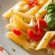 Penne Tricolore - Stock Photo