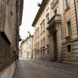 streets of ravenna — Stock Photo