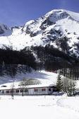 кампителло матезе горнолыжный курорт — Стоковое фото