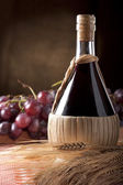 Red Wine Flask — Stock Photo