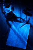 Natt brev — Stockfoto