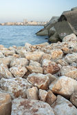 Stones on the Coast — Stock Photo