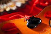 Castanets with Guitar — Stock Photo