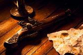 Antique Flintlock Pistol — Stock Photo
