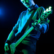 Royalty-Free Stock Photo: Bassist