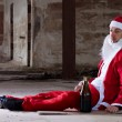 Homeless Santa — Stock Photo #11582420