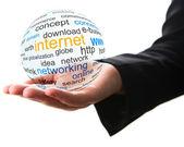 Concept of internet — Stock Photo