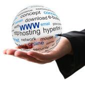 Concept van world wide web — Stockfoto