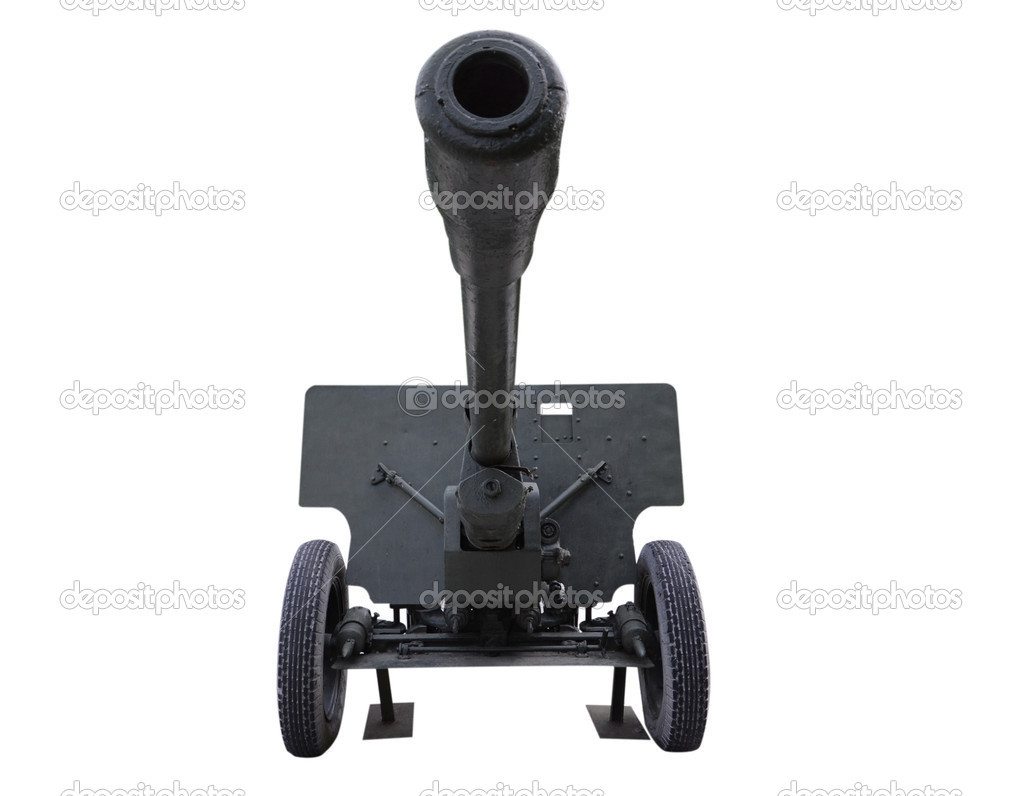 Old anti tank — Stock Photo #10810130