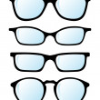 Glasses — Vector de stock