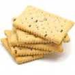 Crunchy biscuits — Stock Photo