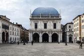 Piazza della Loggia. Brescia, Italy — Stock Photo