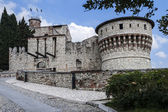 Castle of Brescia — Stock Photo