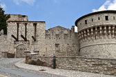 Castle of Brescia — Stock Photo