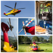 Stock Photo: Emergency rescue helicopter