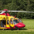 Emergency rescue helicopter — Stock Photo