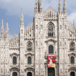 Duomo di Milano, cathedral in Milan — Stock Photo #11552253