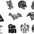 Mexican and maya glyph — Stock Vector #11037355