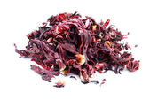 Dried hibiscus flower — Stock Photo