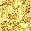 Golden foil - Stock Photo