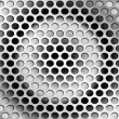 Perforated metal — Stock Photo #10790587
