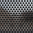 Perforated metal — Stock Photo #10790828