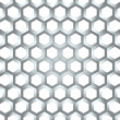 Stock Photo: Hexagonal background