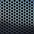 Perforated metal — Stock Photo #10791364
