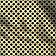 Foto Stock: Perforated metal
