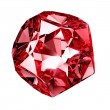Red crystal — Stock Photo