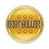 Best Seller seal — Stock Photo
