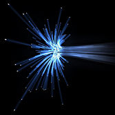 Optical fiber — Stock Photo
