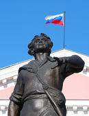 Monument to Peter the Great — Stock Photo