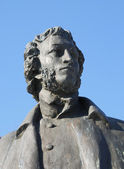 Monument to Russian poet Alexander Pushkin — Stock Photo