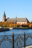 Kant's cathedral in Kaliningrad — Foto Stock