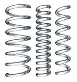 Set of steel spring — Stock Photo