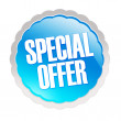 Stock Photo: Special offer sticker