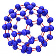 Molecule model — Stockfoto