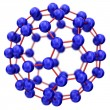 Molecule model — Stock Photo