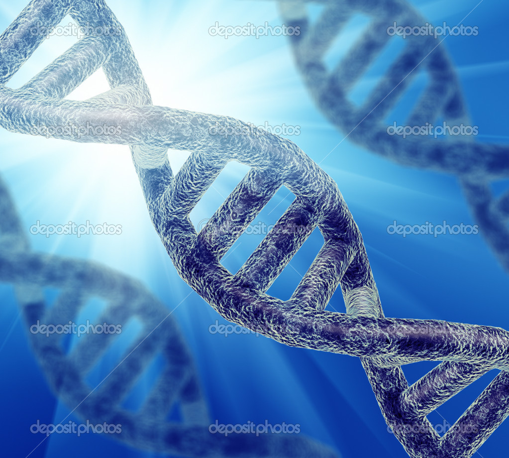 Illustration of DNA strand — Stock Photo #11608349