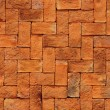 Royalty-Free Stock Photo: Texture of orange brick