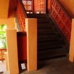 Arabic orange stair style — Stock Photo #11948164