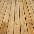 Close up of wood floor — Stock Photo